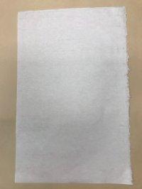 手漉き和紙 (菱紙 ひしがみ)